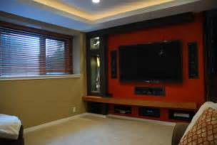 Small Apartment Home Theater Small Home Theater Contemporary Home Theater