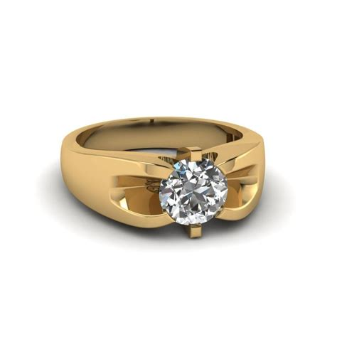 Wedding Bands Yellow Gold With Diamonds by 15 Best Of Mens Yellow Gold Wedding Bands With Diamonds