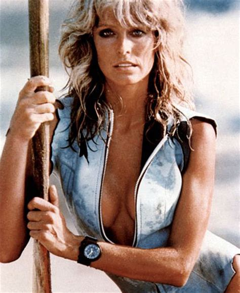 Farrah Fawcett Has Kicked Some Major Cancer fashion map what is quot pin up quot really