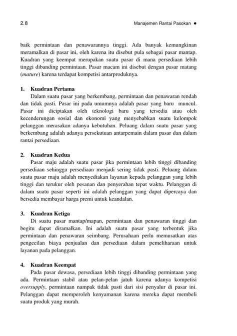 Manajemen Kepegawaian Sipil Di Edisi Kedua bmp ekma4371 manajemen rantai pasokan edisi 1