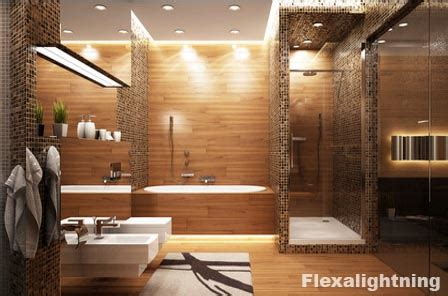 illuminazione bagno con faretti idee per illuminare lo specchio bagno con lade e