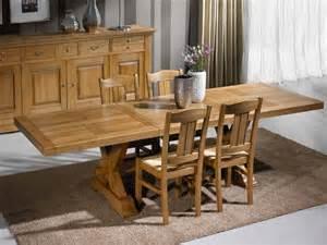 table 224 manger rustique en ch 234 ne massif 2 en croix