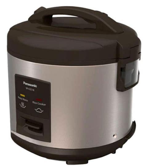 Rice Cooker 3 In 1 Panasonic Anti Lengket Sr Cez18spsr jual panasonic sr cez18dbsr rice cooker brown 1 8