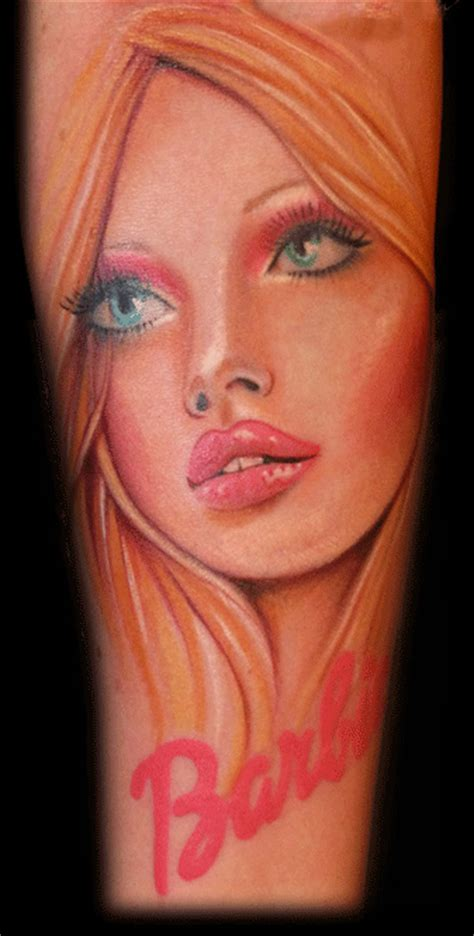 tatuajes para mujer tatuajes de la mu 209 eca barbie