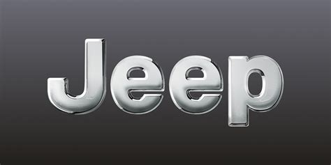 logo jeep linkaround post production 3d logo jeep