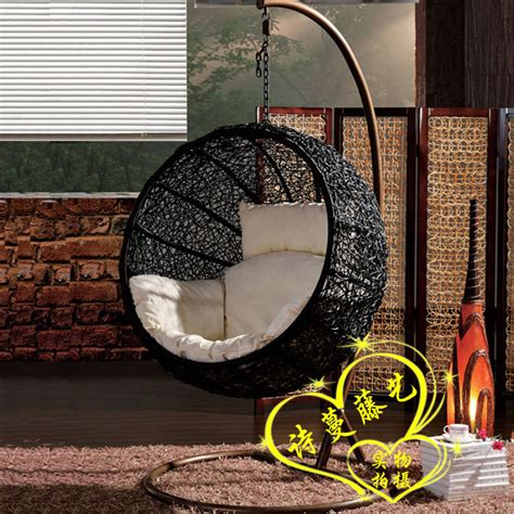 hanging basket swing chair rattan swing hammock lounged hanging basket cradle chair