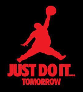 Tshirt Just Do It One Tshirt just do it tomorrow shirt nike brand lazy t