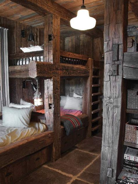 Cabin Bunk Beds by Mountain Cabin Bunk Beds Decorating