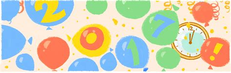 google images new year new year s day 2017 google doodle features balloon drop to
