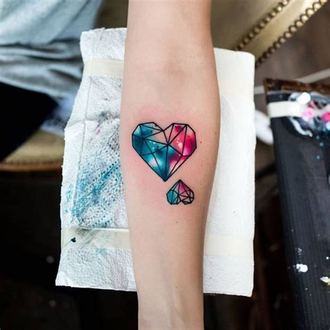 watercolor heart tattoo designs best 25 watercolor tattoos ideas on