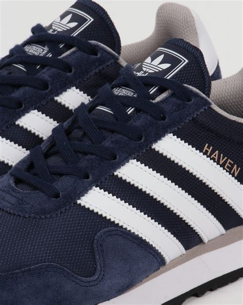 adidas haven adidas haven trainers navy white originals shoes runners