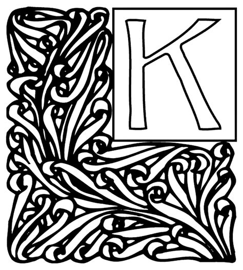 crayola coloring pages alphabet alphabet garden k coloring page crayola com