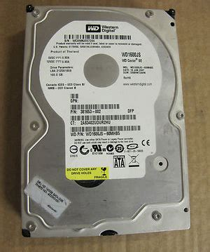 Hardisk Ata 40gb Second western digital wd protege ide 40gb drive 400eb 11cpf0