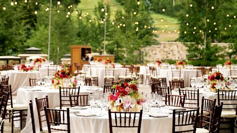 City Wedding Reception by Wedding Venues In Utah The St Regis Deer Valley