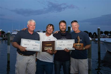 dare county boat builders fishing tournament triple 7 wins dare county boat builders fishing report