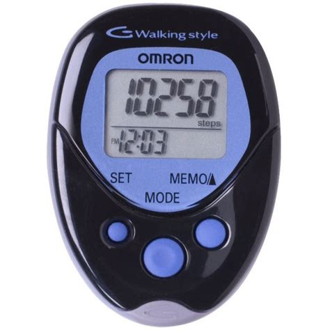 Omron Walking Style One 1576 by Omron Hj 113 Pocket Pedometer Walking Style Black Review