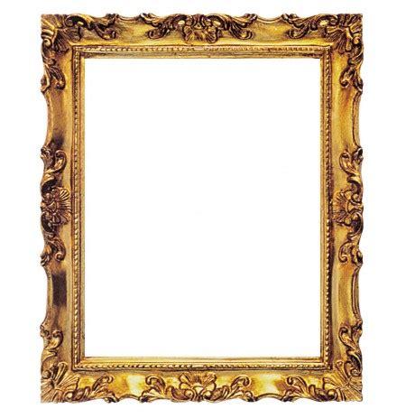 foto cornici cornice rettangolare in legno quot francesina quot oro 50x60 cm
