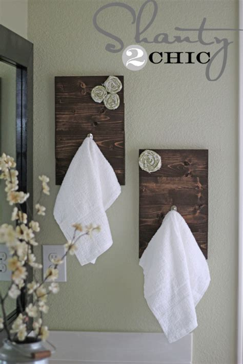 bathroom towel hooks ideas creative diy towel rack ideas for your boring bathroom
