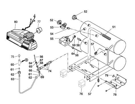 sanborn air compressor motors wiring diagram wiring diagram