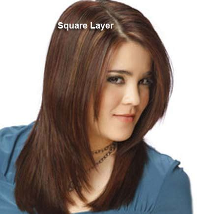 square layers different haircuts layered hair styles with pictures