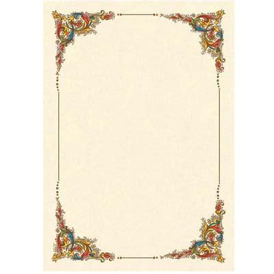 cornici foglio a4 diplomi pergamena cartoleria il temperino forli
