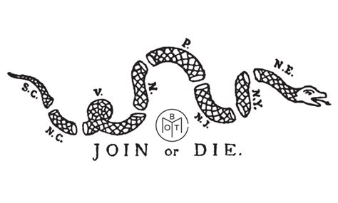 join or die tattoo join or die get inked with craig ferguson across