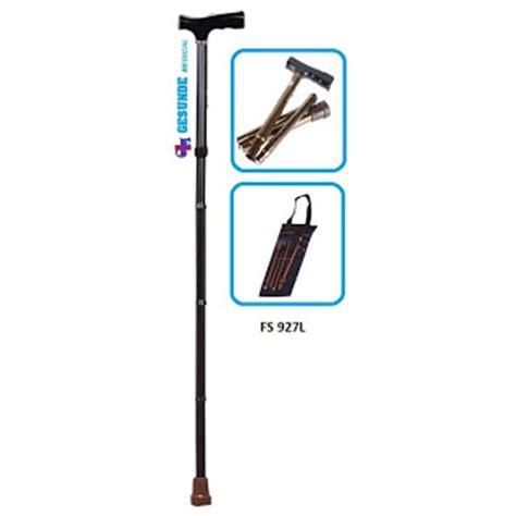 Dijamin Tongkat Kaki Lipat tongkat lipat fs927l toko medis jual alat kesehatan