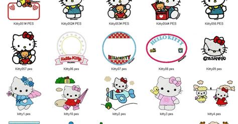 embroidery design hello kitty hello kitty embroidery designs free machine embroidery