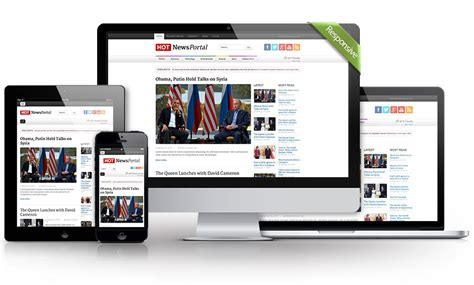 template joomla news portal news portal for joomla hotthemes