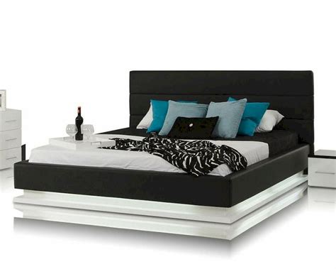 Platform Bed With Lights Contemporary Platform Bed W Lights 44b180bd