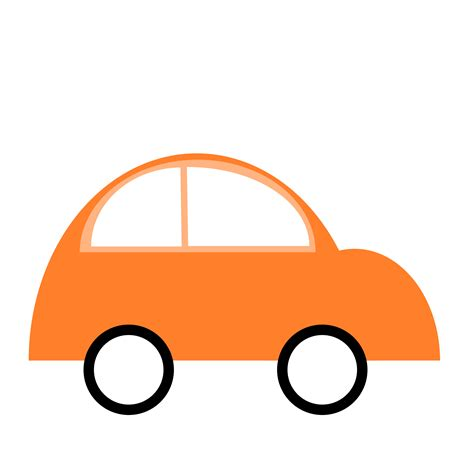 library  orange car clipart freeuse library png files