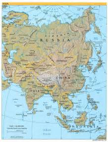 asia map asia maps perry casta 241 eda map collection ut library