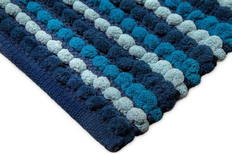 10 x 12 blue mat archangel bath rug 1pc pebble plush and crafted