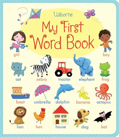 my picture book my word book at usborne children s books