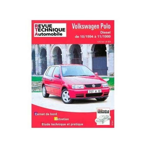 Polo Repair Manual Automobile Library Mecatechnic