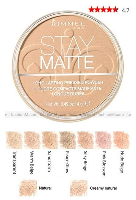 7 Powders I Recommend by Rimmel Stay Matte Pressed Powder Foundation I Highly