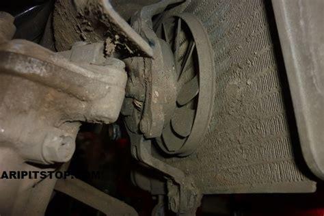 Kipas Radiator Vixion Lama plat nomor dipasang di radiator kipas meleleh motor