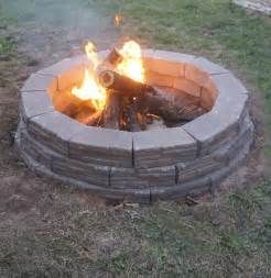how to build an easy backyard pit