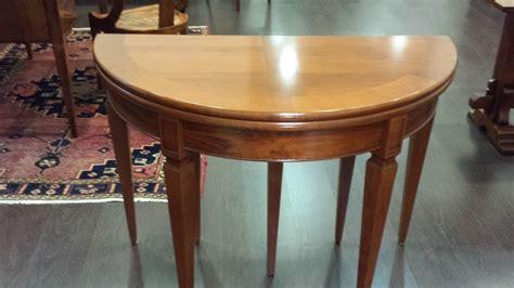 tavolo mezzaluna tavolo consolle mezzaluna allungabile sconto outlet