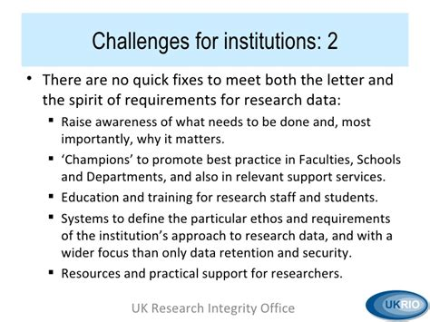 Research Misconduct Letter parry research integrity institutional respons