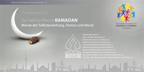 wann ist ramadan 2014 in deutschland pressegespr 228 ch zum ramadan in hamburg
