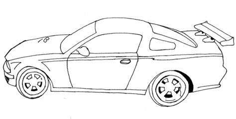imagenes para dibujar un carro autos deportivos para dibujar faciles imagui