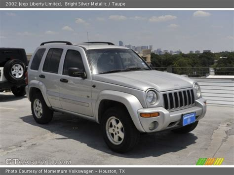 silver jeep liberty interior bright silver metallic 2002 jeep liberty limited taupe