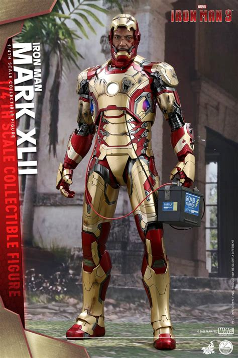 Toys Ironman 4 toys 1 4 scale iron xlii armor the toyark