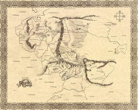 lord of the rings maps lord of the rings map