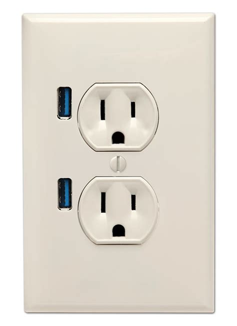 With Usb Outlets Usb Wall Outlet Newhairstylesformen2014