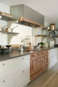 copper and stainless steel kitchen bespoke kitchen with modern luxury and edwardian charm