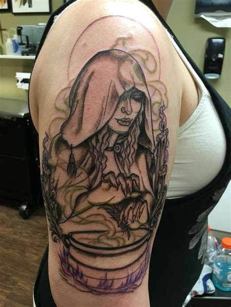 witch tattoo witchcraft www pixshark images galleries