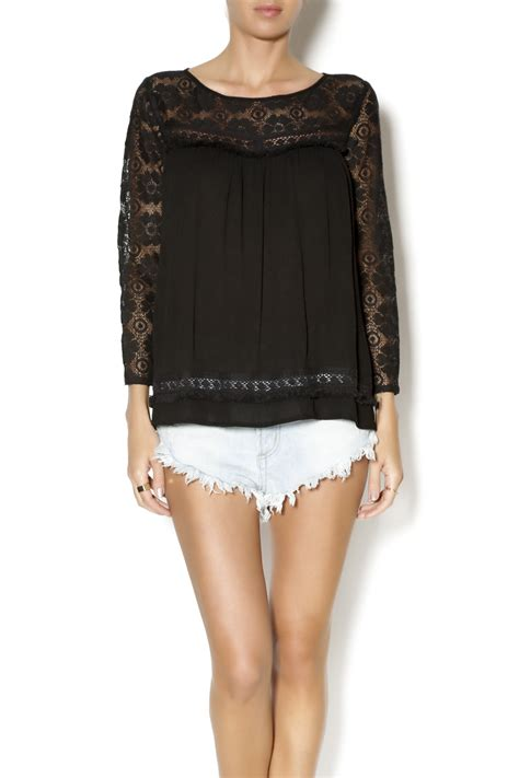 Babydoll Top umgee usa lace babydoll top from tennessee by the loft on court shoptiques