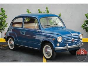 Vintage Fiats For Sale Classic Fiat 600 For Sale On Classiccars 7 Available